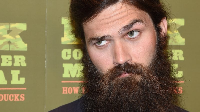 Jep Robertson at the premiere of the Duck Dynasty musical in Las Vegas. (Image by: Getty Images)