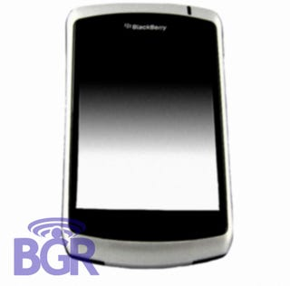 Illustration for article titled Blackberry 9xxx Spy Shots Leaked...Maybe?