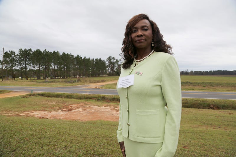 Joyce Barlow, candidate for Georgia state house District 151, in Leary, Ga., on Sunday Nov. 4, 2018