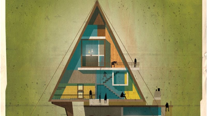 Illustration for article titled The Archidirector series turns your favorite directors into buildings