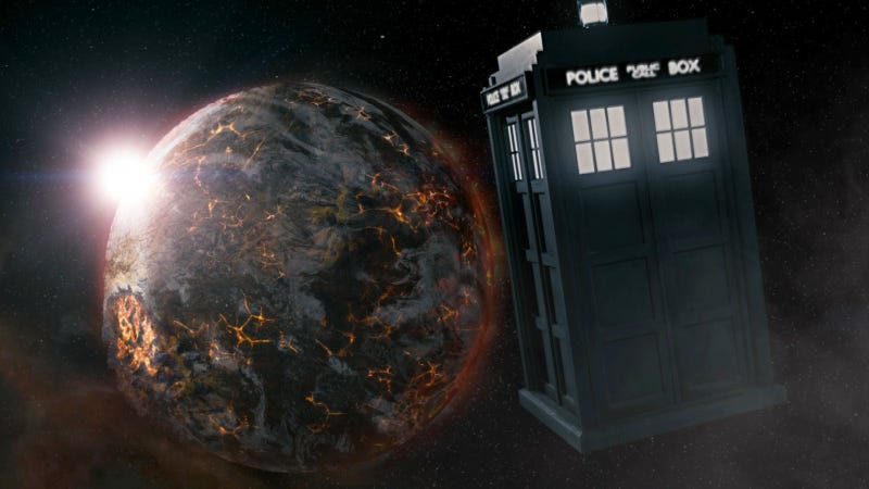 Illustration for article titled Sarah Connor needs to tell Doctor Who there's no fate but what we make