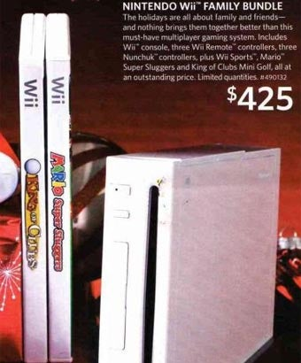 Illustration for article titled Sam's Club Black Friday Wii Bundle Was Obviously Too Good To Be True