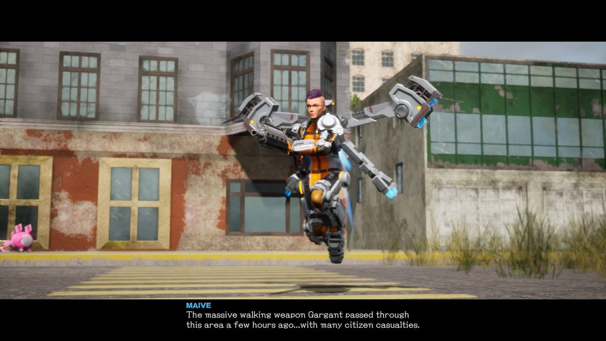 It's Jarring To Play Earth Defense Force With A Hero I Made