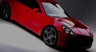 Illustration for article titled Porsche Panamera Sedan Teased, Tuned By Roock