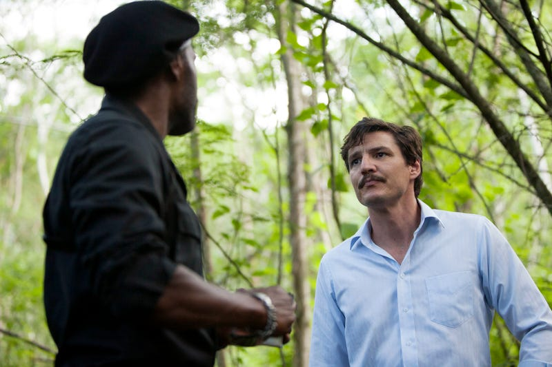 Curtis Cook, Pedro Pascal (Photo: Juan Pablo Gutierrez/Netflix)