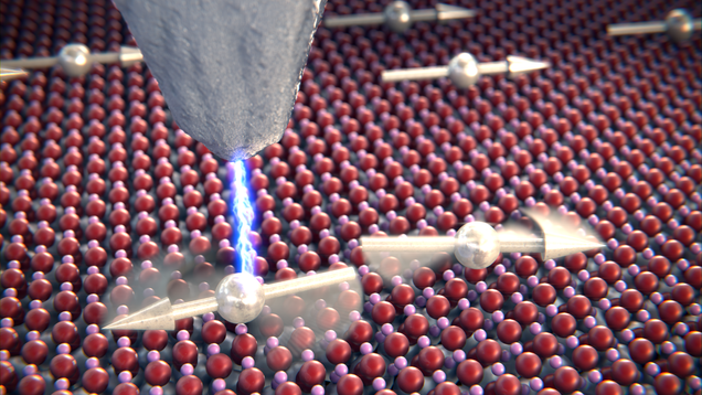 Physicists Caught Two Atoms  Talking  to Each Other