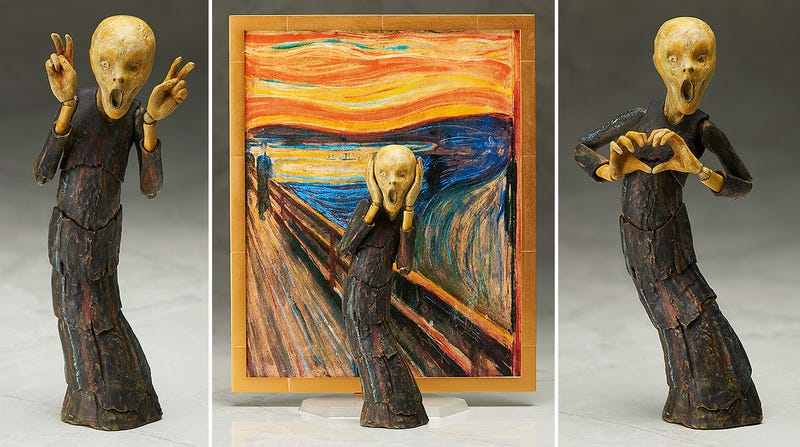Edvard Munch's The Scream Is Infinitely More Horrific as an Action Figure