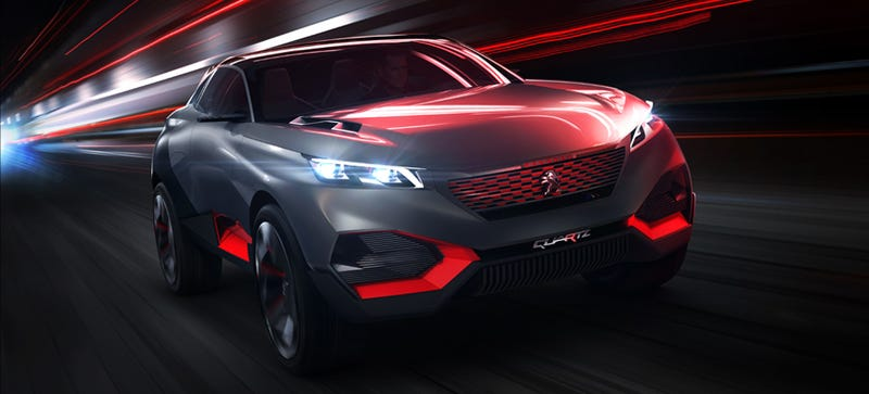 Illustration for article titled QUARTZ Concept Proves Crossovers Could Be Sexy, And Downright Sinister