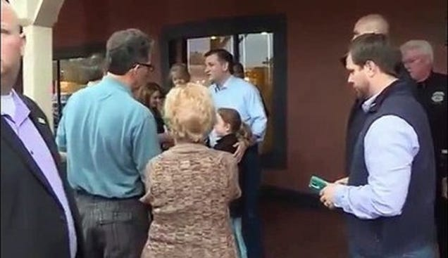 Watch Ted Cruz Fight About the Affordable Care Act With a Person With a Disability