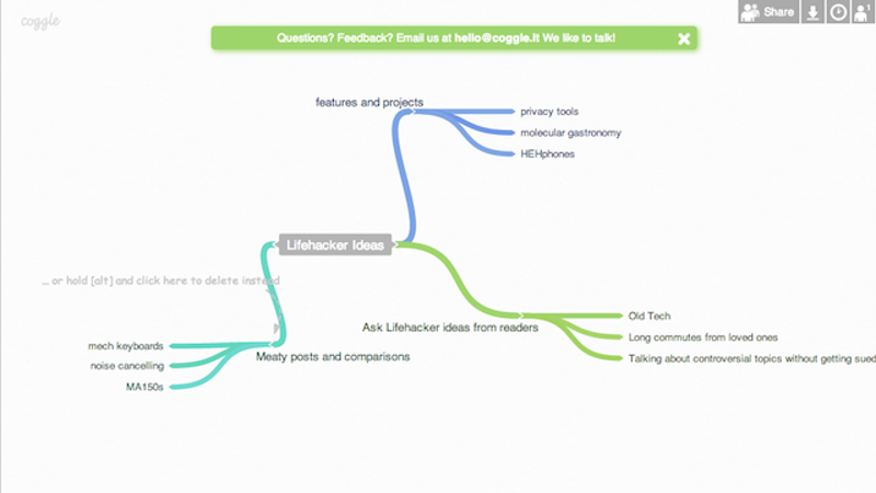 five best mind mapping tools - Online Free Mind Map