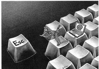 Illustration for article titled Should we put criminals under surveillance instead of in prison?