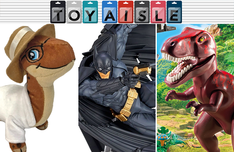 Illustration for article titled A Ridiculously Posable Batman Cape, and More of the Most Delightful Toys of the Week