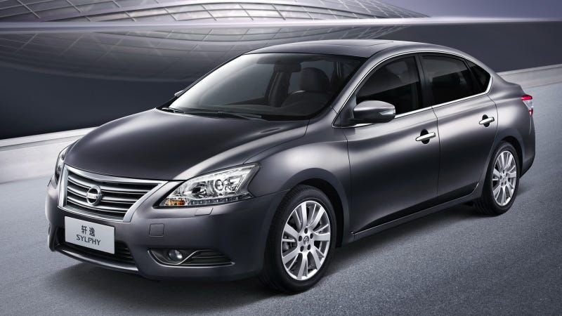 Illustration for article titled 2013 Nissan Sentra Sylphy Gallery