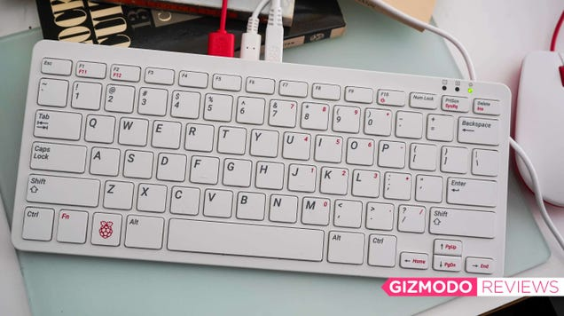 This Raspberry Pi-Powered Keyboard Is a Delight