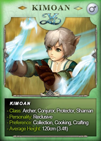 Illustration for article titled Ys Online Plays The Race Cards