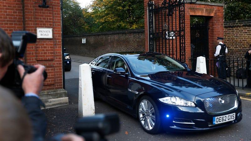Royal car. Image via the AP.