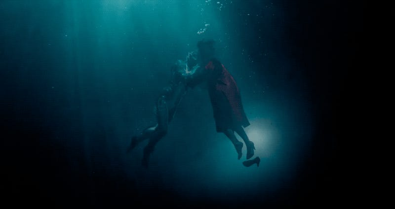 The Shape of Water trailer reveals Guillermo del Toro's fantasy love story