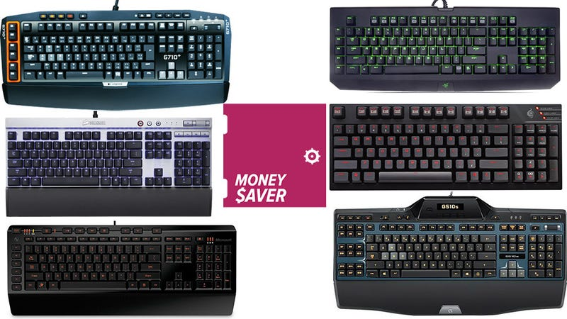 Illustration for article titled Your 6 Nominations For Best Gaming Keyboard