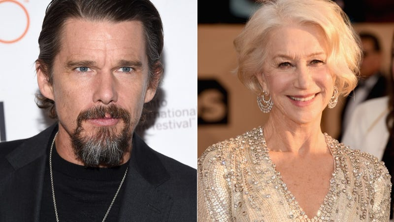 Illustration for article titled Helen Mirren Calls Academy Attacks 'Unfair'; Ethan Hawke Is Pro Boycott