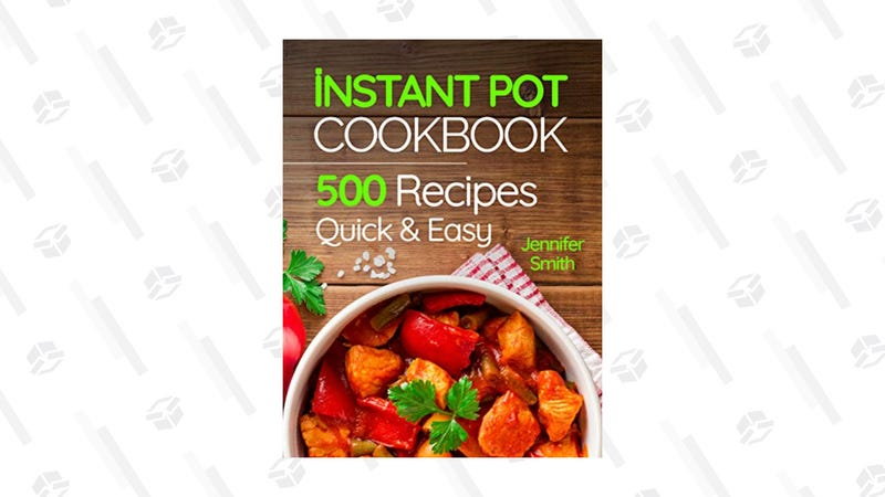 Instant Pot Pressure Cooker Cookbook | $4 | Amazon