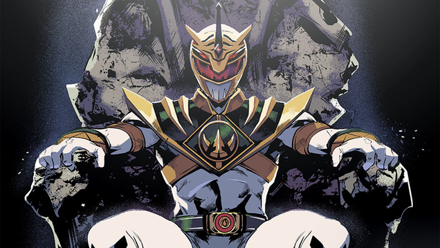 the identity of the power rangers comic s new evil ranger has been revealed