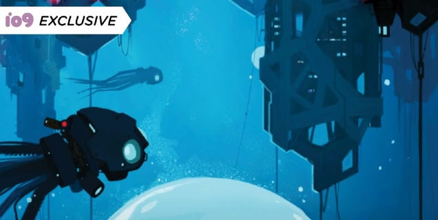A 22nd Century Gumshoe Makes a Grim Discovery in the First Peek at Sci-Fi Noir Midnight, Water City