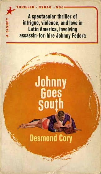 Illustration for article titled Box Of Paperbacks Book Club: Johnny Goes South by Desmond Cory (1959)