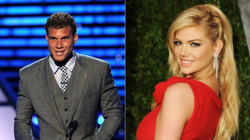 Illustration for article titled Are Blake Griffin And Kate Upton Humping?