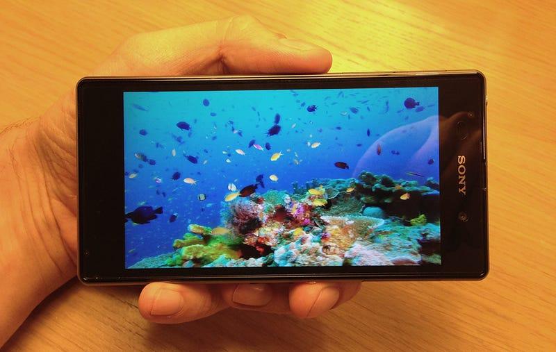 Illustration for article titled Primeras impresiones del Sony Xperia Z1: más alto, más fuerte, mejor