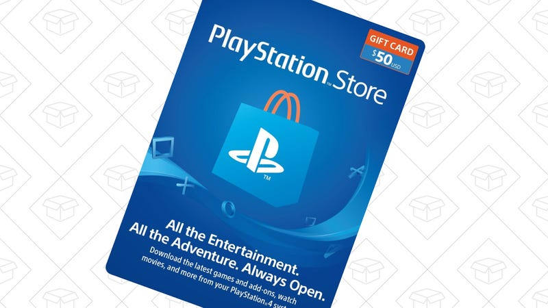 PlayStation $50 Gift Card, $39 with code GIVE10