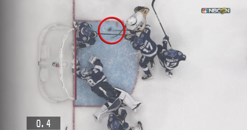 Illustration for article titled I Have Watched This 46 Times And I Can't Tell If It Was A Save Or A Goal