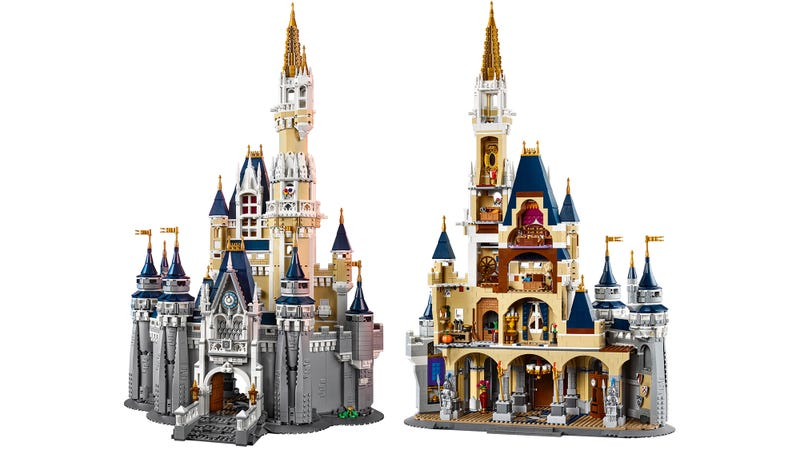 Lego's 4,000-Piece Disney Castle Is Cheaper Than Taking Your Kids to Walt Disney World