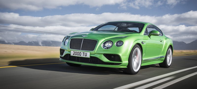 Illustration for article titled Bentley Debuts $200,000+ Coupe In Same Color As Your Roommate's Hyundai