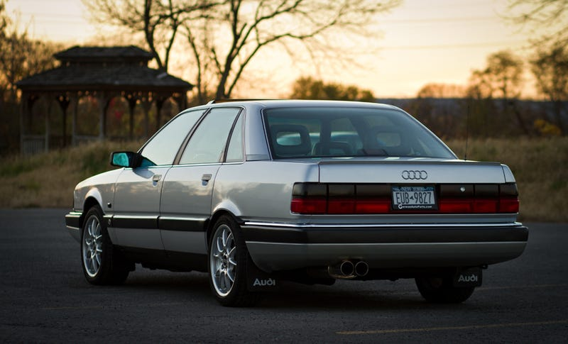 Cars That Time Forgot Audi V - Audi sedan series