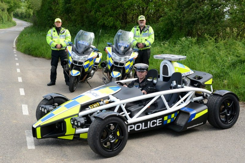 Illustration for article titled Ariel Atom Police Interceptor?