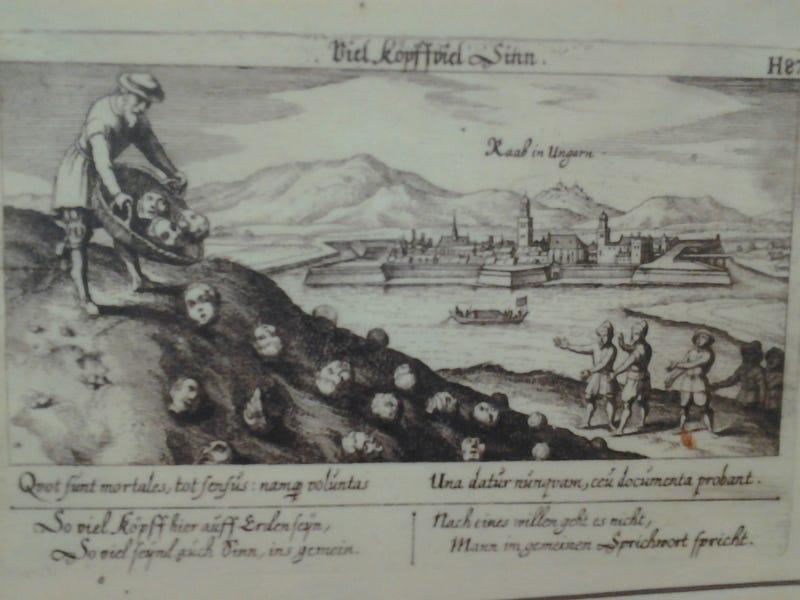Illustration for article titled Emberfejeket gurítanak kosárból a Dunába