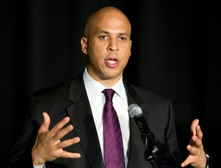 Newark Mayor Cory Booker may have a shot at New Jersey's governor's mansion.