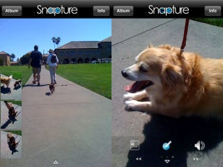 Illustration for article titled Snapture 2.0 Further Improves iPhone's Camera