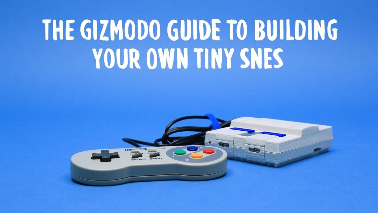 Cómo construir tu propia Mini SNES en cinco sencillos pasos