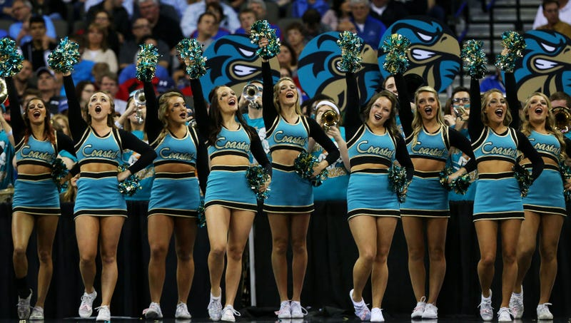 Coastal carolina suspended their entire cheerleading squad and won photo ronald martinezgetty last night coastal carolinas sciox Gallery