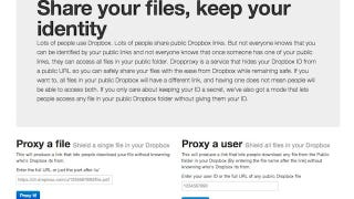 Illustration for article titled Dropproxy Hides Your Dropbox Username from Public Files