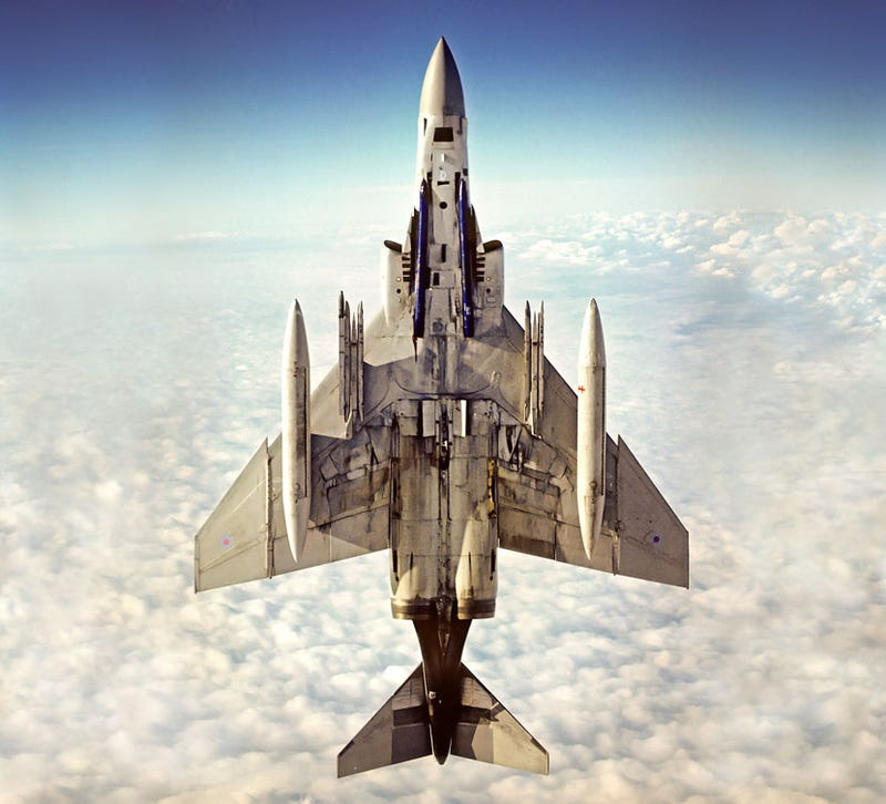 Illustration for article titled Old fighter jets always look the best