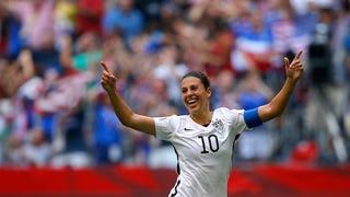 USA Beats Japan in Women's World Cup Finals