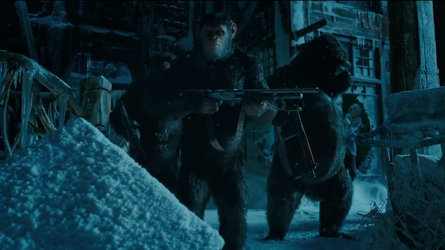 the new war for the planet of the apes trailer sets up the future we all know is coming