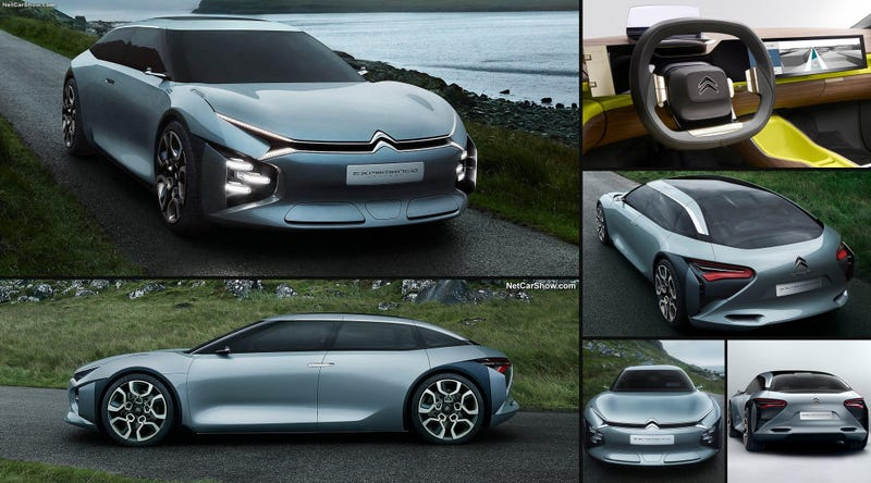 Illustration for article titled Citroën CXperience is proof that French designers found the good stuff again