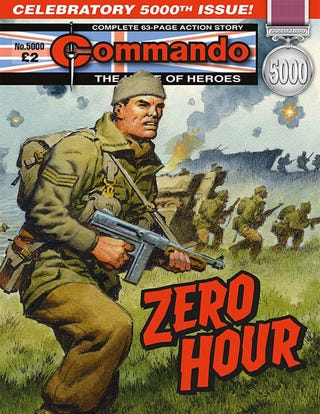 Illustration for article titled It's a howling victory for Commando