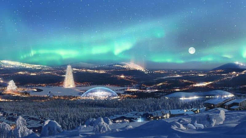 República de Santa Claus: un gigantesco parque de atracciones en el ártico
