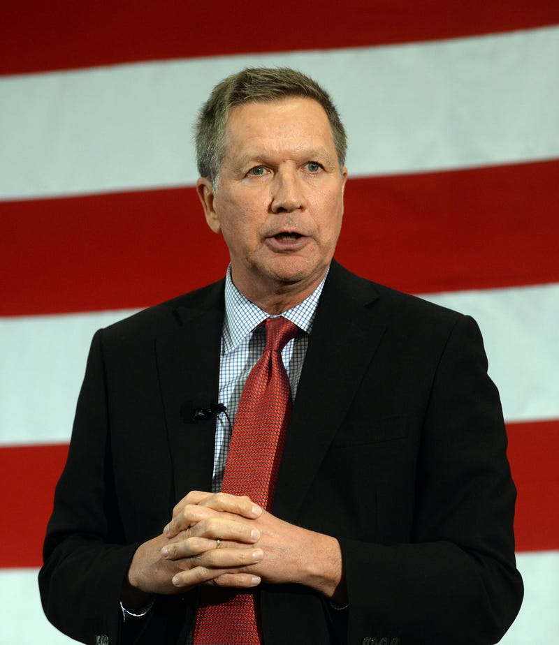 Ohio Gov. John Kasich in 2015Darren McCollester/Getty Images