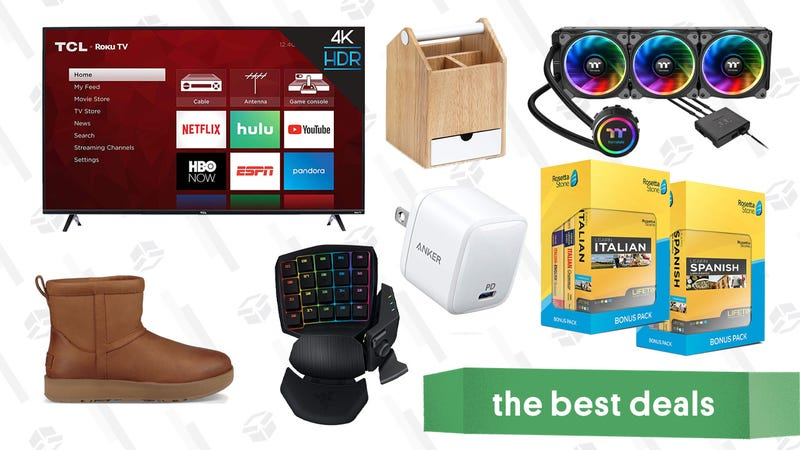 Illustration for article titled Tuesday's Best Deals: Intel Gamer Deals, Menlo Club, UGG Boots, and More
