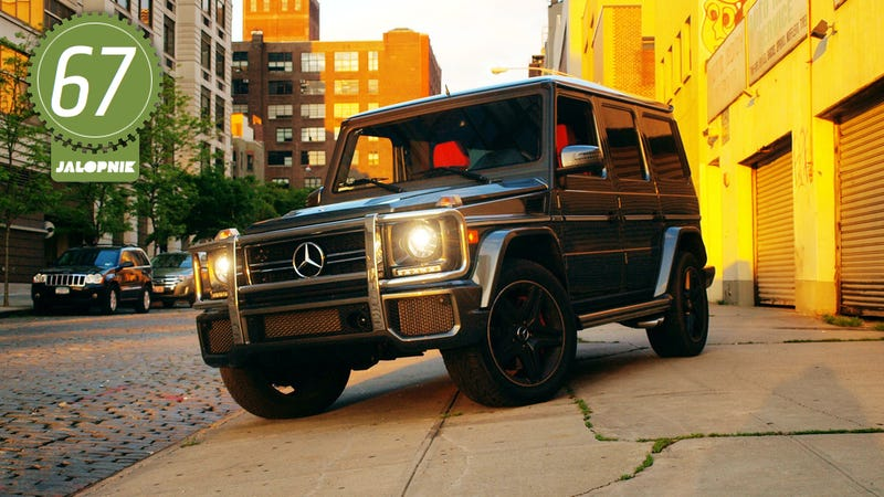 Illustration for article titled 2013 Mercedes-Benz G63 AMG: The Jalopnik Review